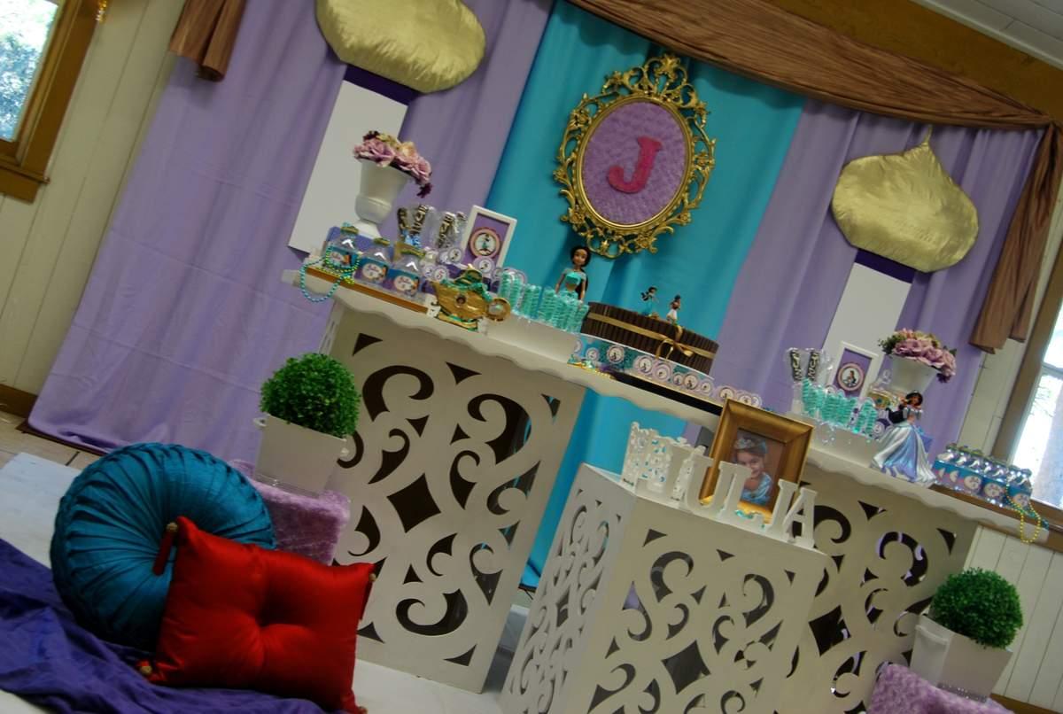 Princess Jasmine - ALADDIN Birthday Party Ideas Photo 1 of 11