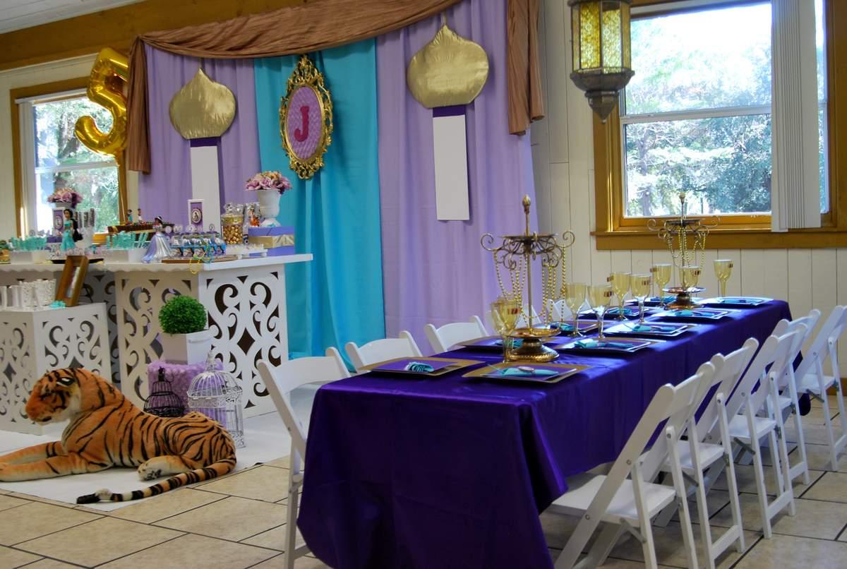 Princess Jasmine - ALADDIN Birthday Party Ideas Photo 4 of 11