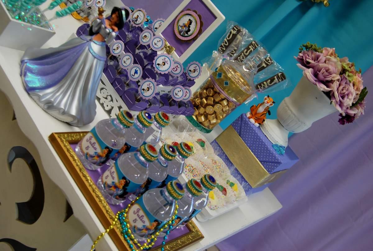 Princess Jasmine - ALADDIN Birthday Party Ideas Photo 5 of 11