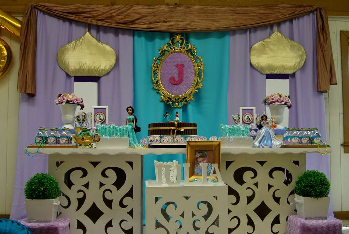 Princess Jasmine - ALADDIN Birthday Party Ideas Photo 10 of 11