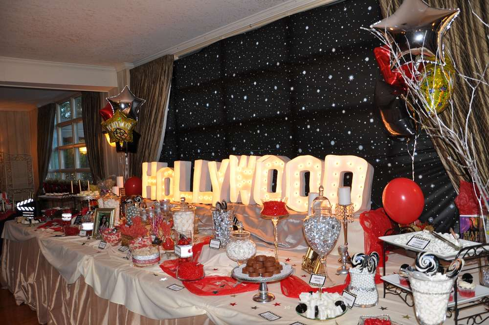 Hollywood Birthday Party Ideas Photo 3 Of 16 Catch My