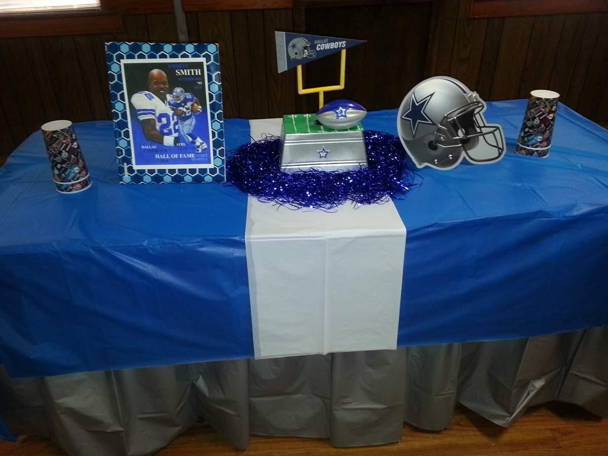 Dallas Cowboys Football Birthday Party Ideas Photo 4 Of