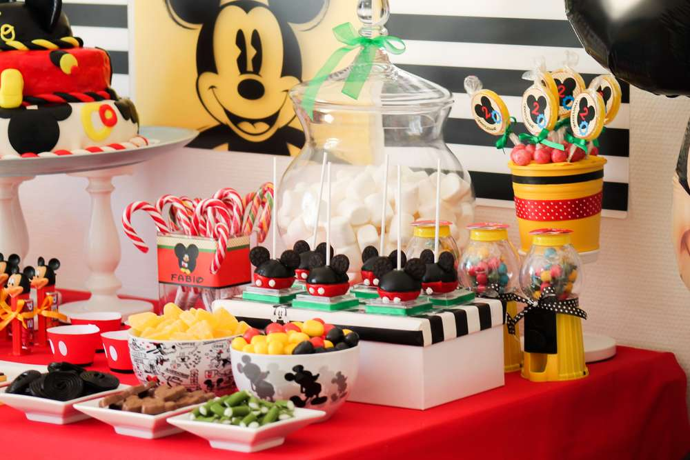 Mickey Mouse Birthday Party Ideas Photo 2 of 52 Catch My Party - mickey mouse boy birthday party ideas