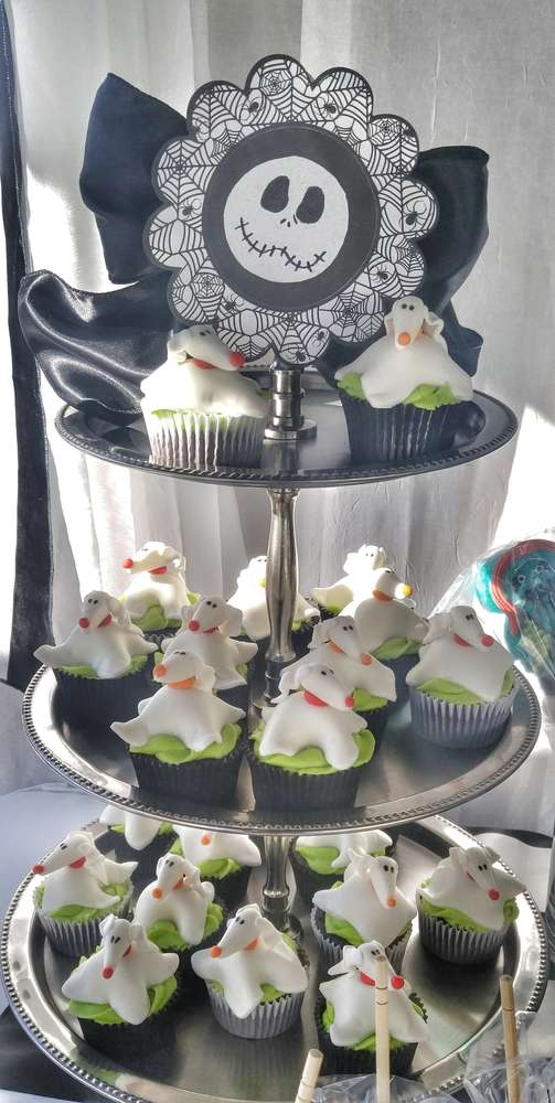 Nightmare Before Christmas Baby Shower Party Ideas Photo 10 of - nightmare before christmas baby shower decorations