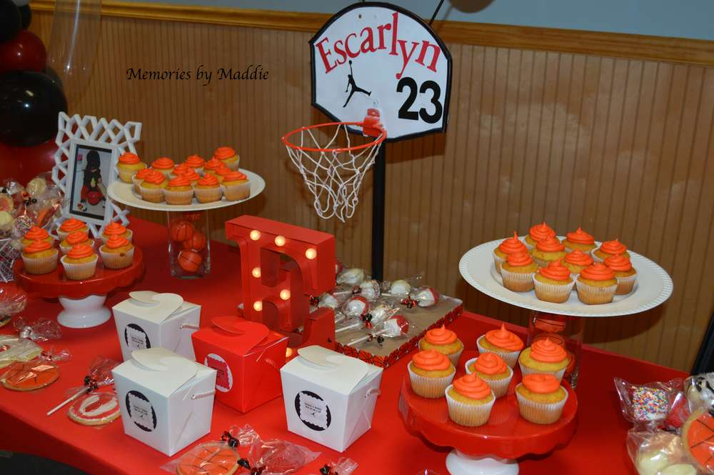 Invitation Card Jordan Michael Jordan -basketball Birthday Party Ideas | Photo 10