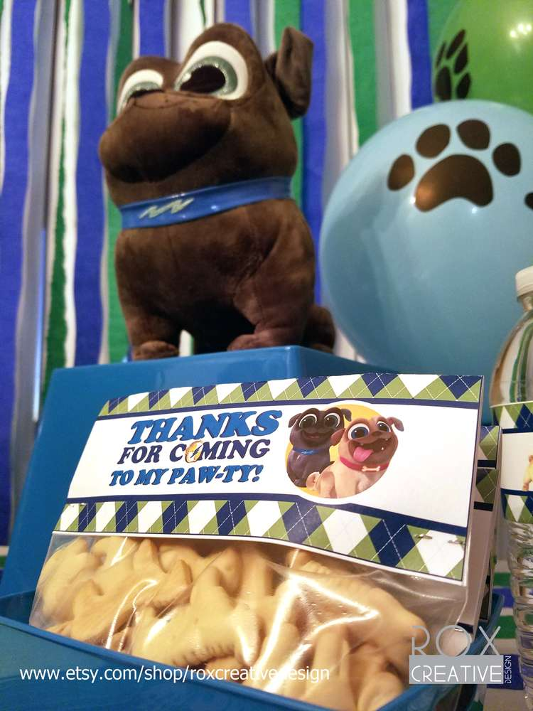 Puppy Dog Pals Birthday Party Ideas Photo 9 Of 21