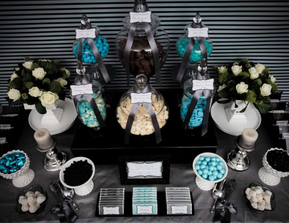 Black Party Ideas for a Grown Up Birthday Catch My Party
