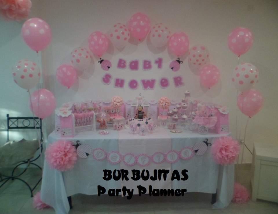 Pink Ladybugs / Baby Shower \