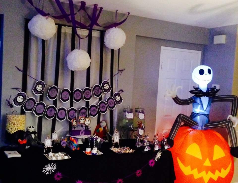 Nightmare Before Christmas \/ Halloween  - nightmare before christmas baby shower decorations
