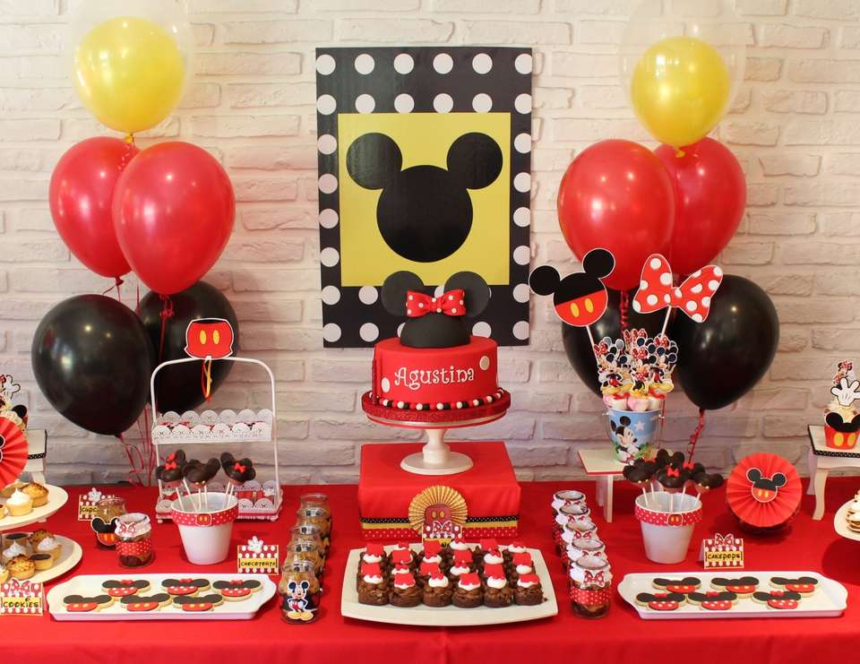 Mickey Mouse Party Ideas for a Girl Birthday Catch My Party - mickey mouse boy birthday party ideas
