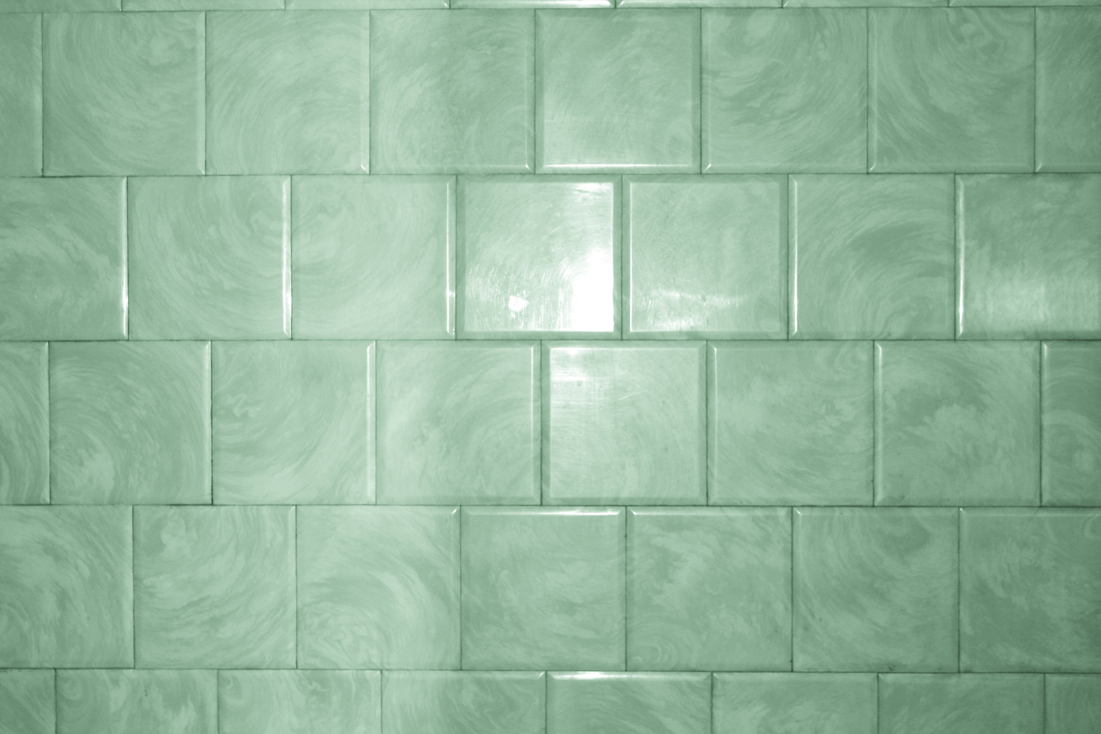Green Bathroom Tile With Swirl Pattern Texture Picture Free Photograph Photos Public Domain