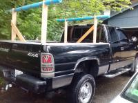 Tips Building a canoe rack for truck ~ Jamson