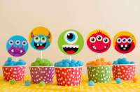 Little Monsters Baby Shower Party Ideas | Photo 2 of 21 ...