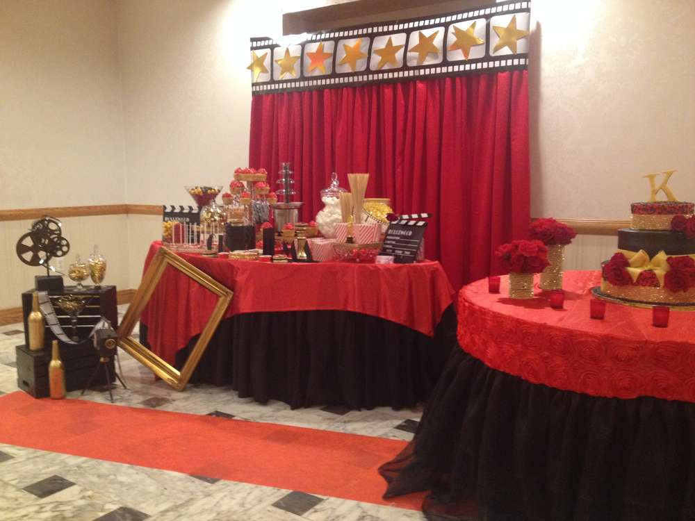 Red Carpet Birthday Party Ideas Photo 7 Of 20 Catch My