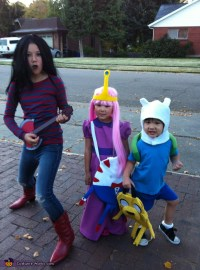Homemade Adventure Time Costumes for Kids