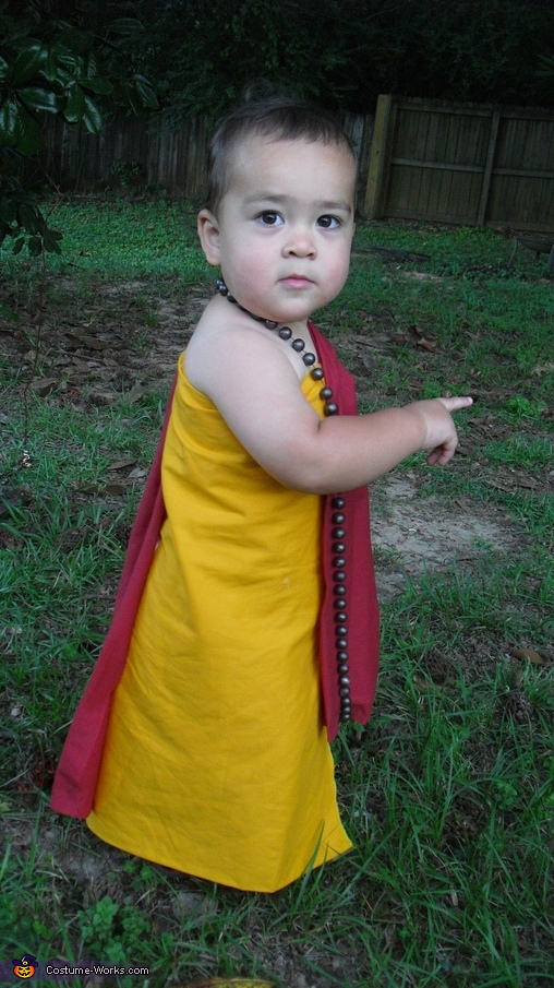 Toddler Loves Babies Buddhist Monk Baby Costume Photo 2 5