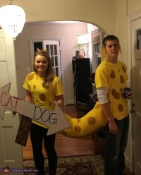 CatDog Couple Costume
