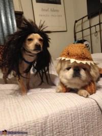 Caveman and Dinosaur Dog Costumes - Photo 3/3