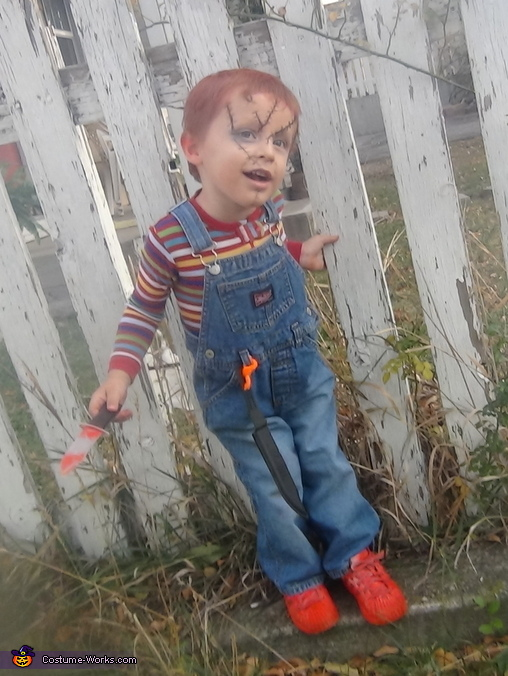 Best Color Hair Spray For Halloween Child 39;s Play Chucky Costume For Boys Creative Diy Costumes