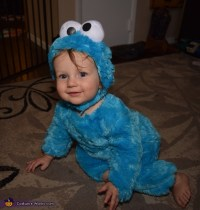 Cookie Monster Costume Toddler - Cookie Clicker
