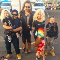 Dog the Bounty Hunter Group Costume
