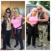 Dog the Bounty Hunter and wife Beth Halloween Costume
