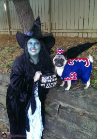 Wicked Witch and Flying Monkey Dog Costume