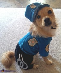Police Officer Dogs Costume