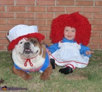 Cute Raggedy Ann and Andy Costume