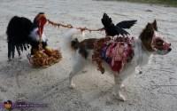 Homemade Roadkill Zombie Dog Costume - Photo 4/4
