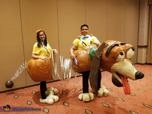 Slinky Dog Couple Costume