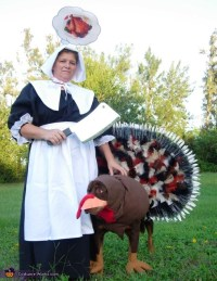 Thanksgiving Turkey Dog Costume