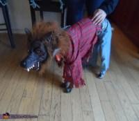 Two Headed Werewolf Dog Costume - Photo 2/2