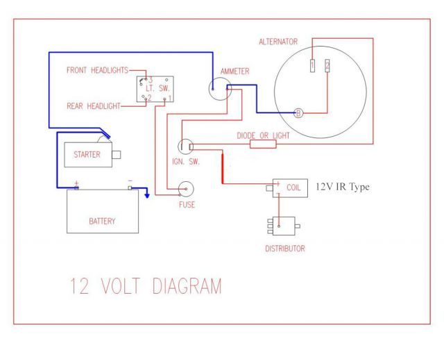 Wiring Diagram For 1953 Ford Jubilee Online Wiring Diagram