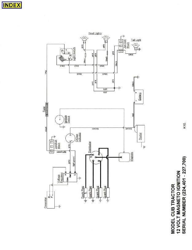 1948 Farmall International Tractor Wiring Online Wiring Diagram