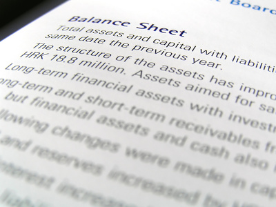 How to Prepare a Balance Sheet in Accounting Chron