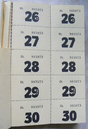 Cómo imprimir boletos numerados Techlandia - boletos de rifas para imprimir gratis