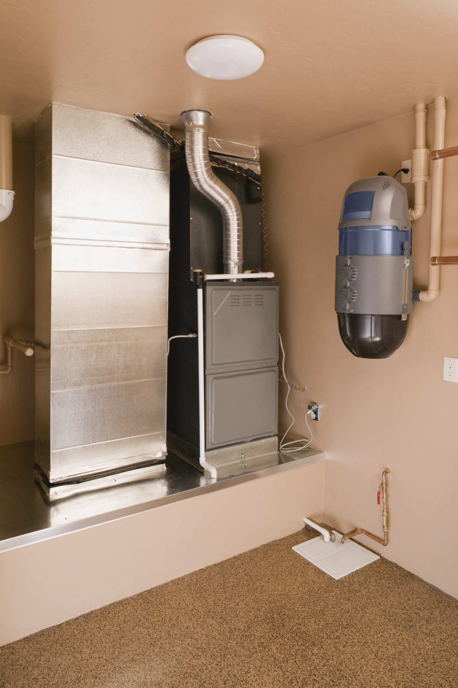 Garage Heater Placement How To Troubleshoot A Furnace Blower That Runs No Heat