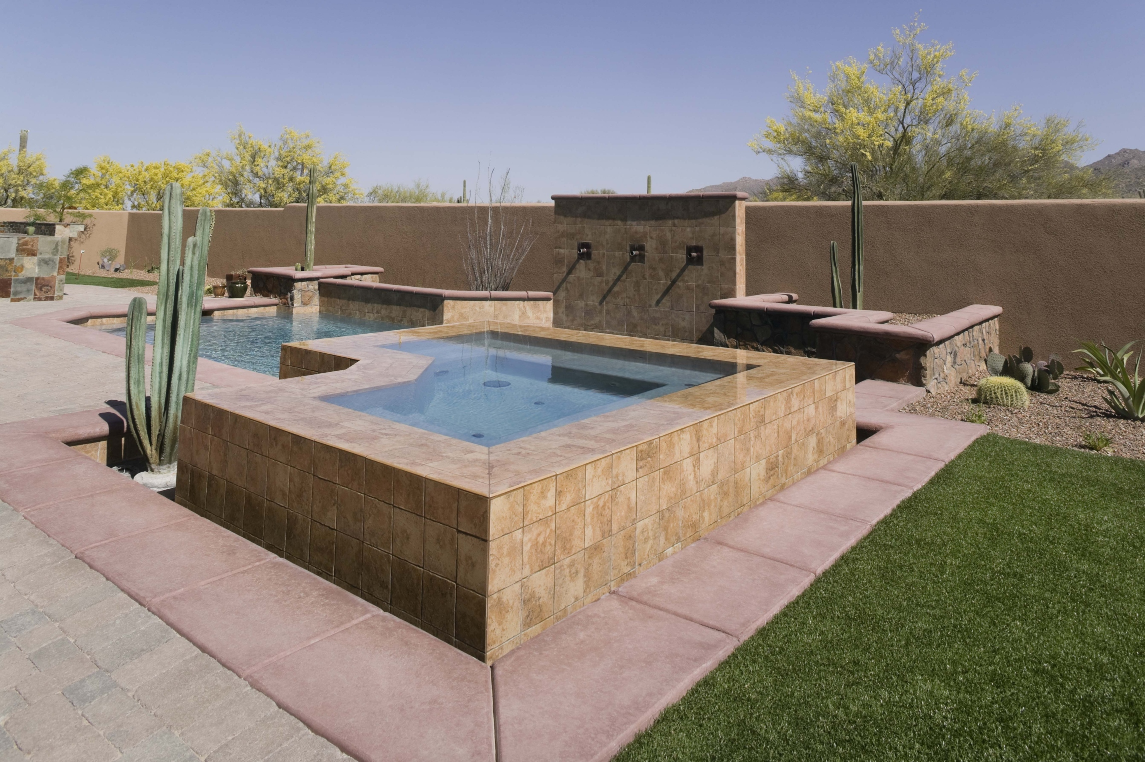 Jacuzzi In The Pool Materials To Build Hot Tubs Yourself Ehow