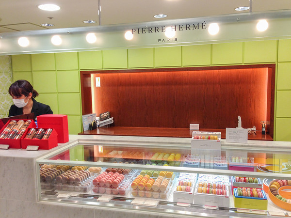 Japanese Food: Luxury fruits and high-end imports, like Pierre Herme macarons