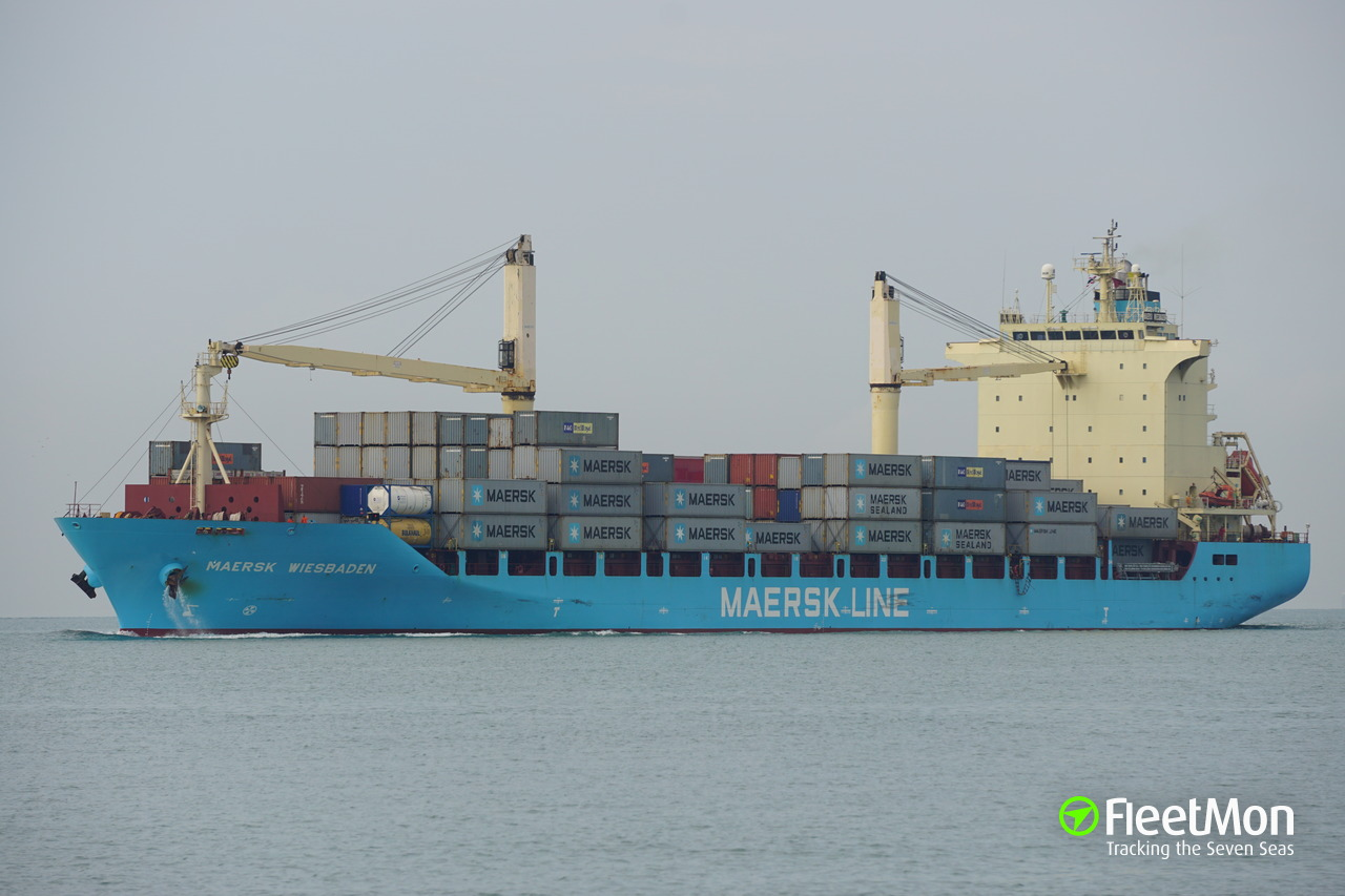 Containerdienst Wiesbaden Maersk Wiesbaden Container Ship Imo 9410272