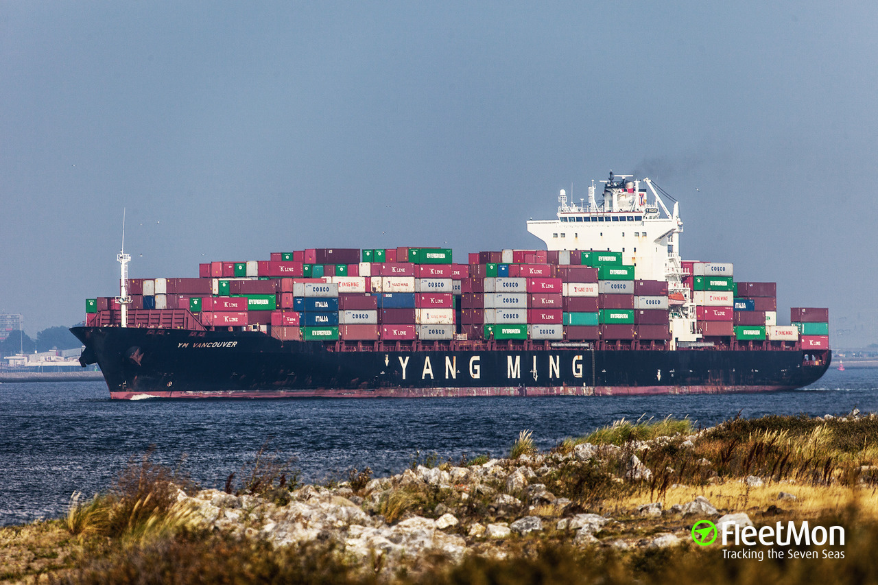 Kleine Container Ym Vancouver Container Ship Imo 9363364