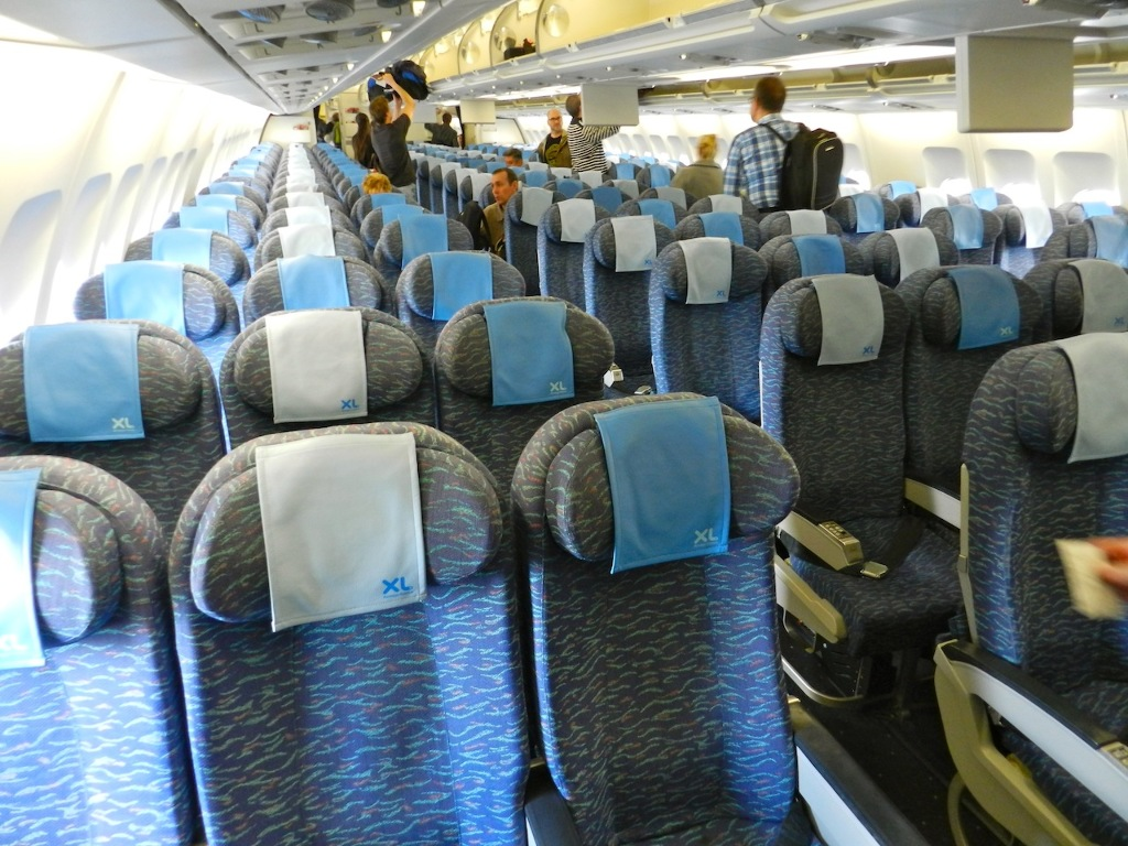 Interieur D'un Avion Xl Airways Xl Airways Paris New York Vinny Oleo Vegetal Info