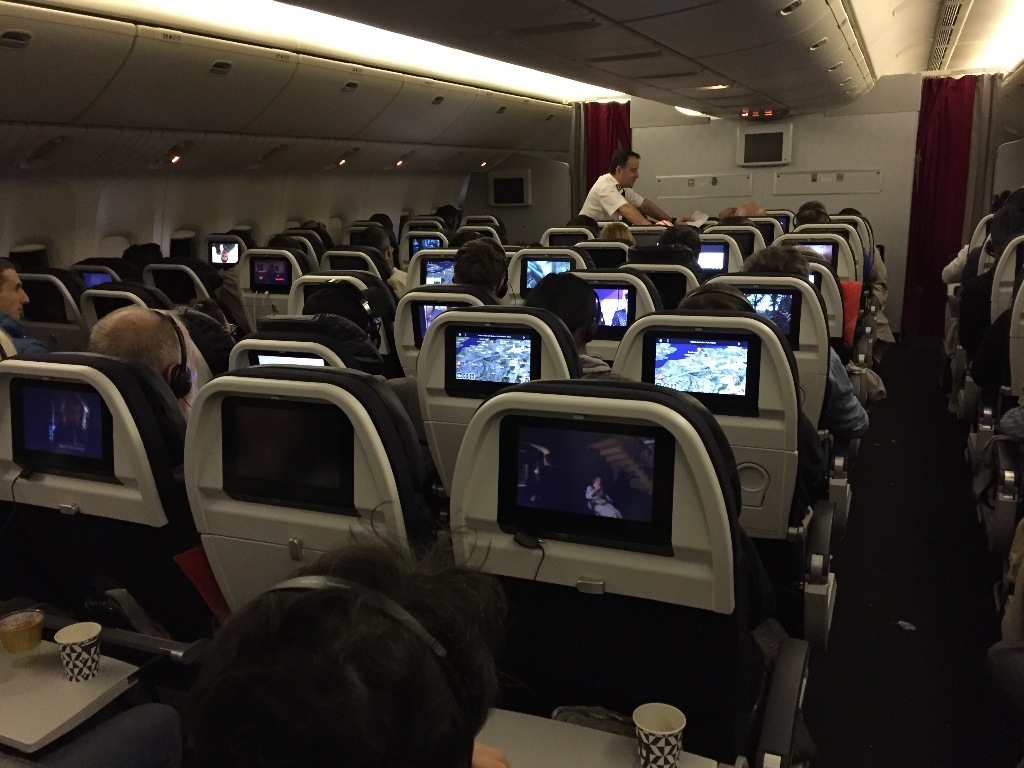 777 Interieur Review Of Air France Flight From Guangzhou To Paris In Economy