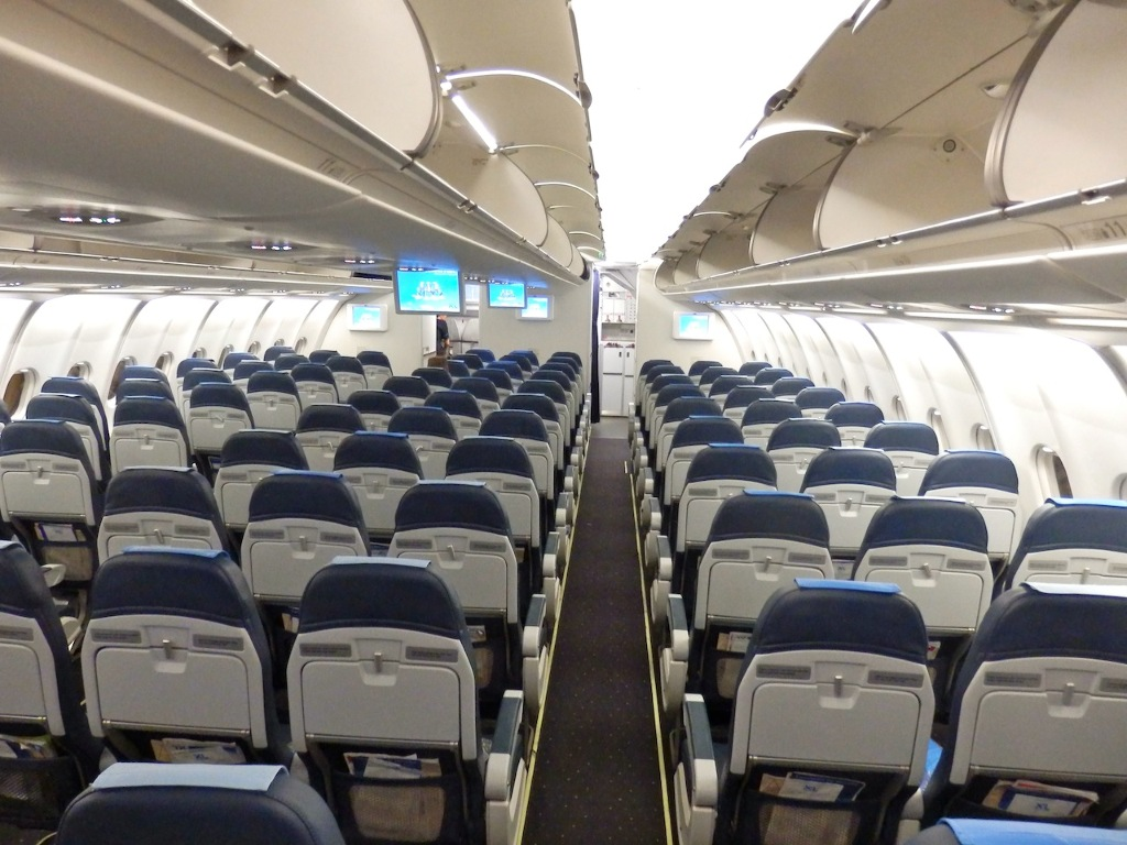 Interieur D'un Avion Xl Airways Avis Du Vol Xl Airways France Cancún Paris En Economique