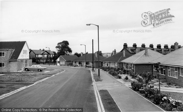 Photo Of Horsforth Greenbanks Estate C1965 Francis Frith