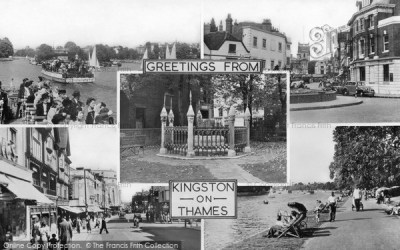 Kingston Upon Thames, Composite c.1955 - Francis Frith
