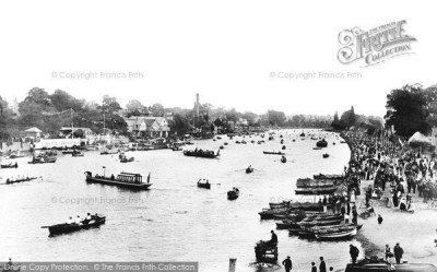 Kingston Upon Thames, From The Bridge 1896 - Francis Frith