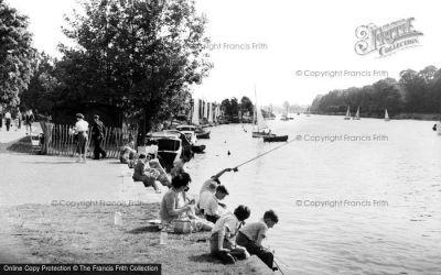 Kingston Upon Thames, The Thames c.1955 - Francis Frith