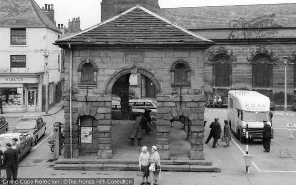 Girl In Hospital Wallpaper Pontefract The Buttercross 1964 Francis Frith